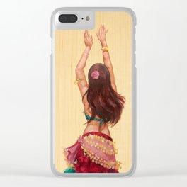 Bellydancer Clear iPhone Case