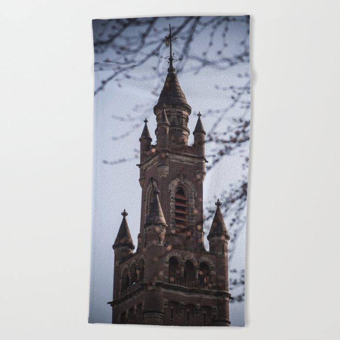 Fairy Tale Tower Beach Towel