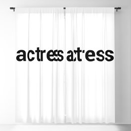 actress Blackout Curtain