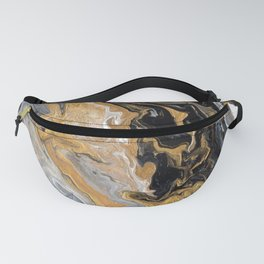 Gold Vein Marble Fanny Pack
