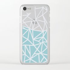 Ab Outline Salt Water Clear iPhone Case