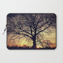 tree silhouette Laptop Sleeve