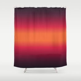 Sunset Tie Dye Gradient Colors Spectrum Harmony Shower Curtain