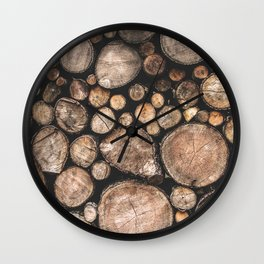 The Spirit of the Trees Wall Clock