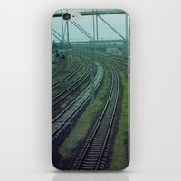 russia iPhone & iPod Skins featuring Russia. Railway. by Slava Joukoff