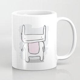 Awkward Bunny Coffee Mug