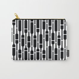 Spells - Geometric Pattern (Black) Carry-All Pouch