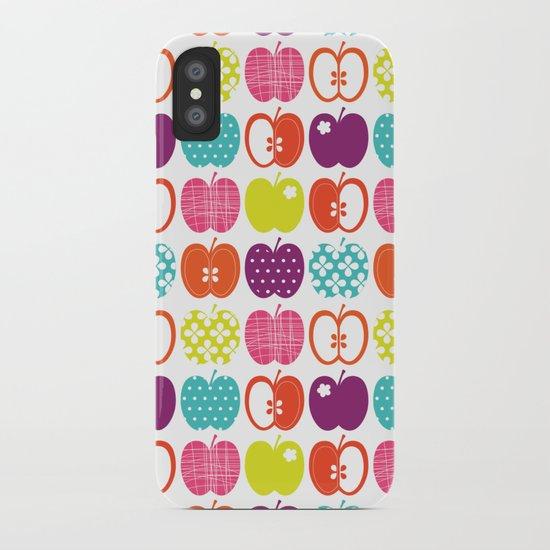 Textured Apples iPhone Case