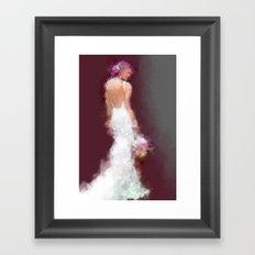 Bridal series - SY Framed Art Print