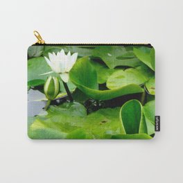 Waterlily #2 Carry-All Pouch