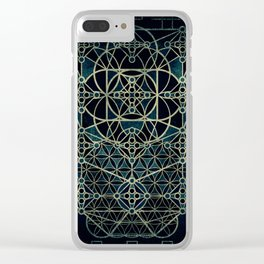 Quantum Conexion Clear iPhone Case