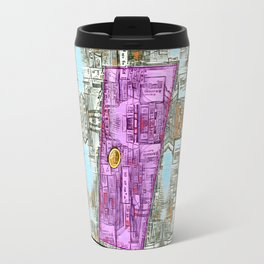 Enter at Your Own Risk Doorway to a New World Travel Mug