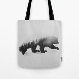 Jerv (black & white version) Tote Bag