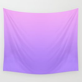 PINK PURPLE FADE Wall Tapestry