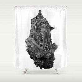 Selenite Lighthouse Shower Curtain