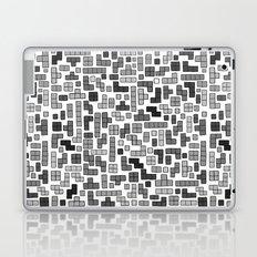 letter k - gaming blocks Laptop & iPad Skin