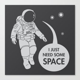 Relation(Space)ship Canvas Print
