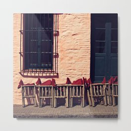 Lunchtime Is Near Metal Print