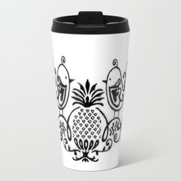 Logo Wrist tattoo Travel Mug