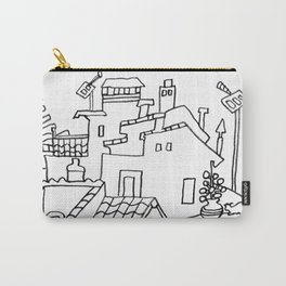 Benalmadena Village On The Coast of Sunshine Carry-All Pouch