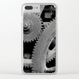 Big Gears Clear iPhone Case
