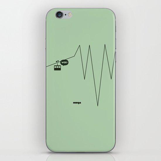 WTF? Riel! iPhone & iPod Skin