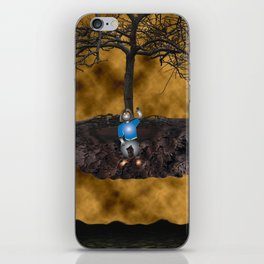 Book Cover Illustration iPhone Skin