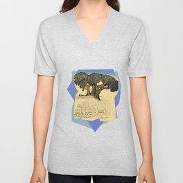 The Fig Tree Unisex V-Neck