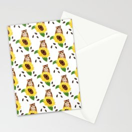 Sunflower Hamster Version 2 Stationery Cards