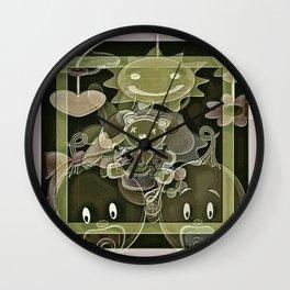 Cabsink16DesignerPattern107KS Wall Clock