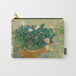 Daisies, Arles (1888) by Vincent van Gogh Carry-All Pouch