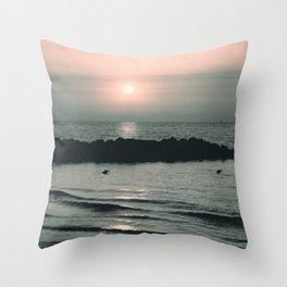 Sunset Ocean Bliss #4 #nature #art #society6 Throw Pillow