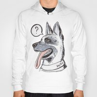 meat Hoodies featuring Dog Meat by scoobtoobins