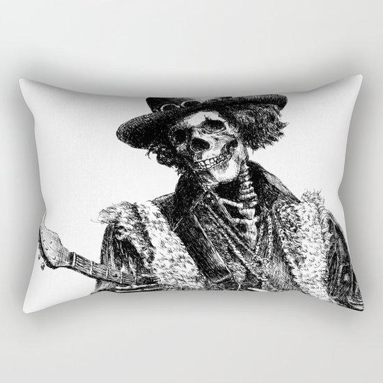 The Legend of Guitarist Rectangular Pillow