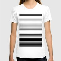 plain T-shirts featuring plain lines by My Big Fat Brand
