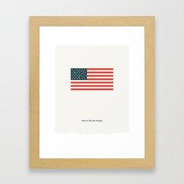America: Guns for Everyone Framed Art Print
