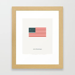 America: Guns for Everyone Framed Art Print