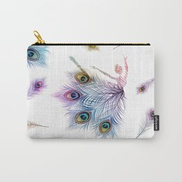 Peacock Dancer Carry-All Pouch