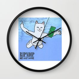 Ripndip Wall Clock