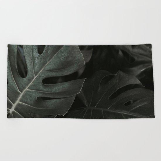 Monstera Fade Beach Towel