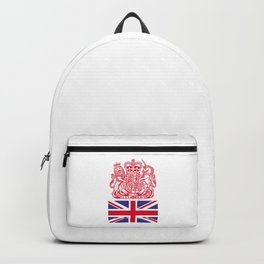 UK coat of arms Backpack