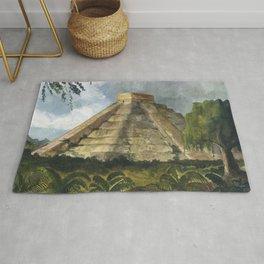 Mayan Pyramid Rug