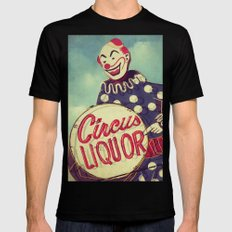 Circus Liquor, N. Hollywood, CA. LARGE Mens Fitted Tee Black
