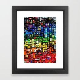 gridlock spectrum  Framed Art Print