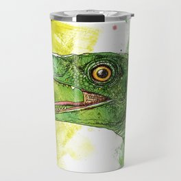 green saurus Travel Mug