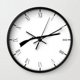 Flintlock Musket Wall Clock