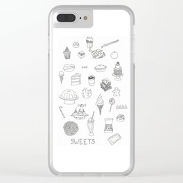 Sweets! Clear iPhone Case