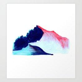 Piton des Neiges Art Print