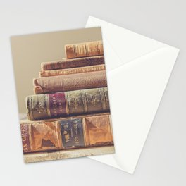 Vintage Books Stationery Cards