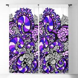 Purple Pulse Blackout Curtain